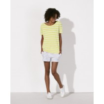 White / Sunny Lime
